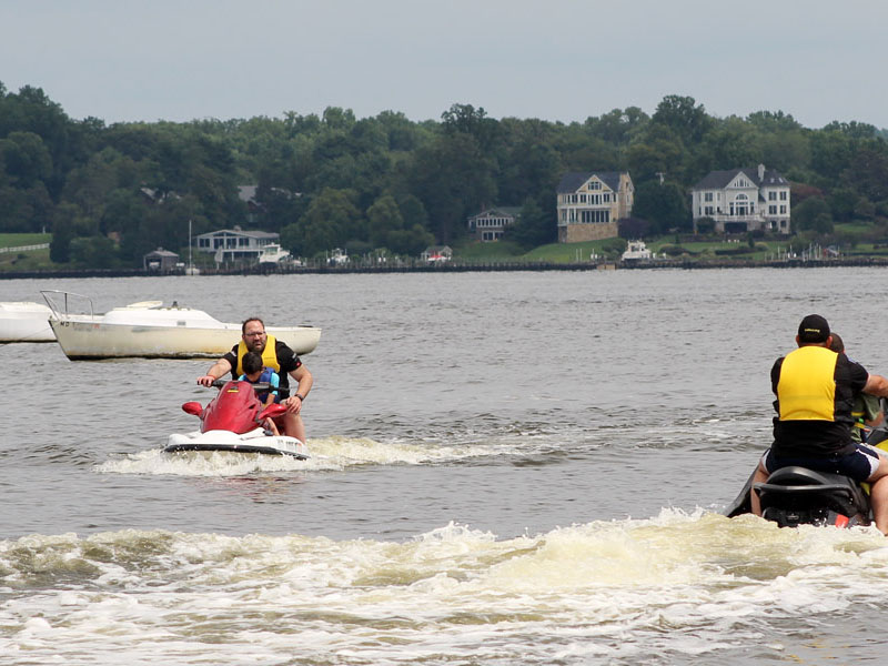 South River Jet Ski offers multiple 2 person Jet Ski's. Come spend a day Jet Skiing on the South River.