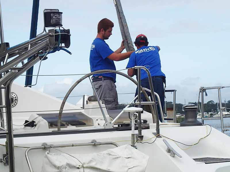 MultiTech Marine - Services - Rigging