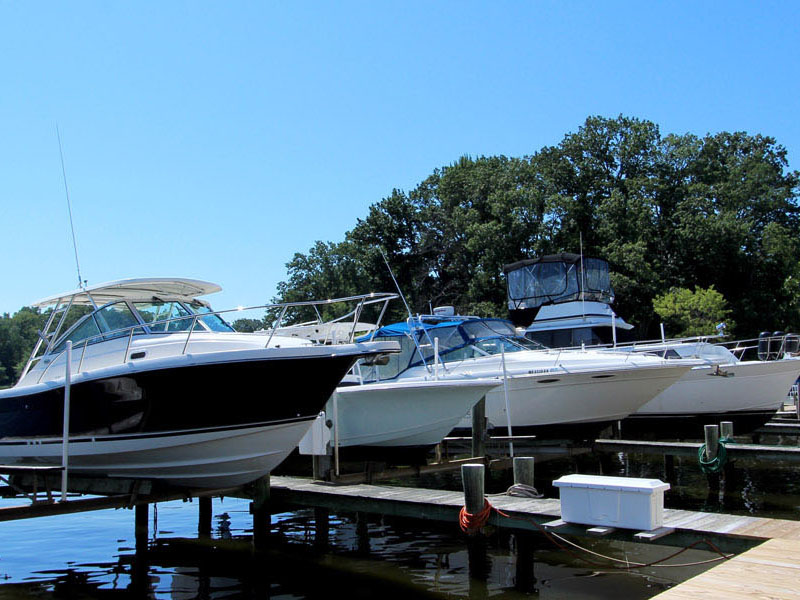 Boat Slips-Chesapeake Bay Marina on The South River