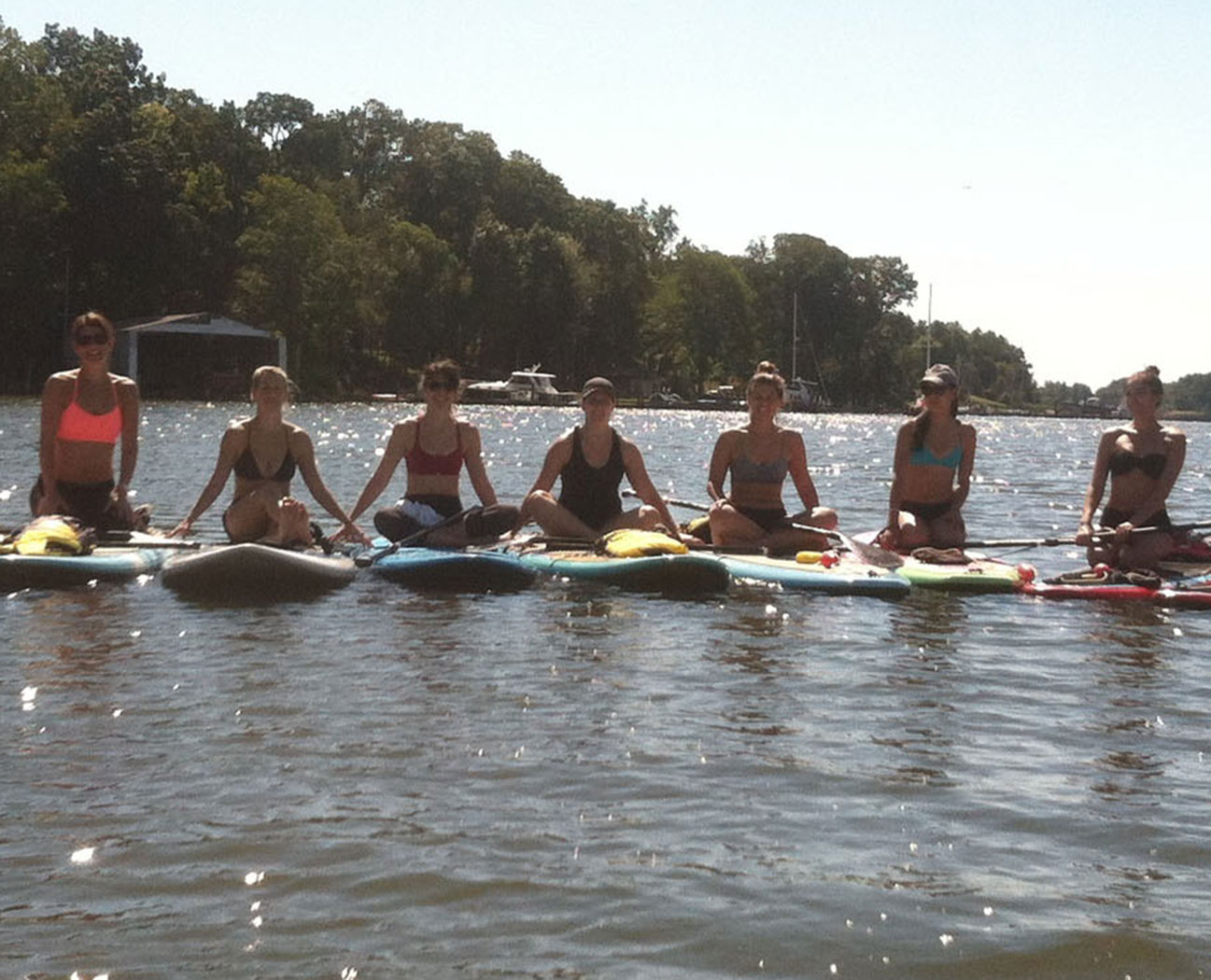 yoga studio and water sport rentals on the South River